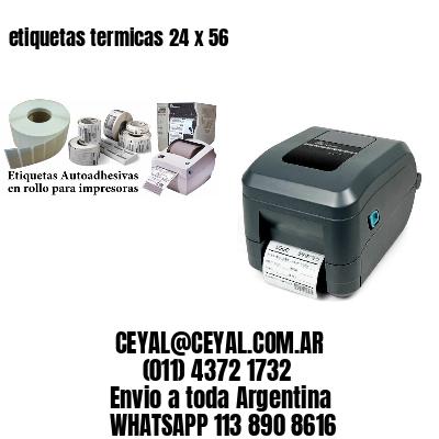 etiquetas termicas 24 x 56