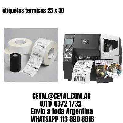etiquetas termicas 25 x 38