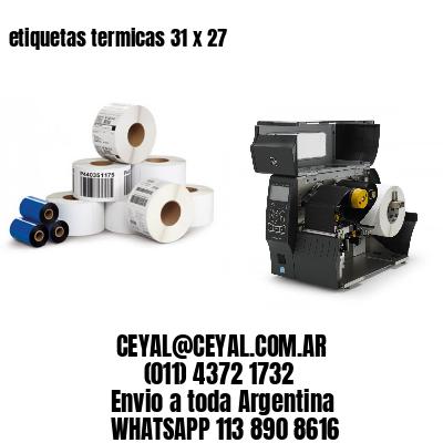 etiquetas termicas 31 x 27
