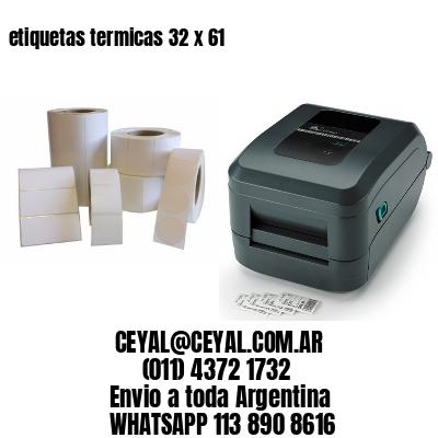 etiquetas termicas 32 x 61